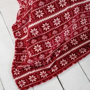 Kουβέρτα μονή mistletoe 150x220